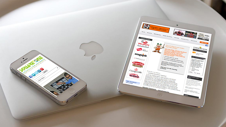 Tablet and Mobile Web Design